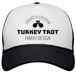 Custom Fun Turkey Trot Hat