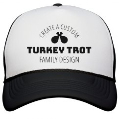 Custom Fun Turkey Trot Hat