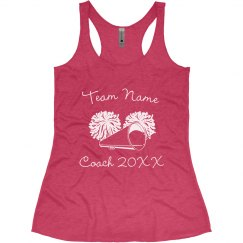 Create Your Own Cheer Coach Design