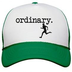 ordinary runner trucker hat