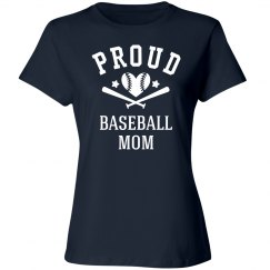 Proud Baseball Mom