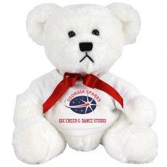 Georgia Sparks 8 INCH TEDDY BEAR STUFFED ANIMAL