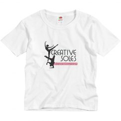 Youth - Pink CSDC Logo Tee
