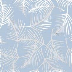 Pastel Tropical Print Sports Bra