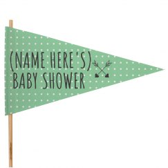 Custom Baby Shower Announcement