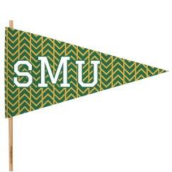 Custom School Initials Spirit Flag