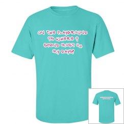 Teal/Berry Recess Crew Shirt