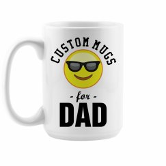 Custom Emoji Dad Gift