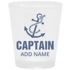 Custom Name Captain Father's Day
