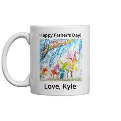 Upload Kid's Drawing Father's Day