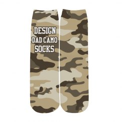 Custom Dad Camo Socks
