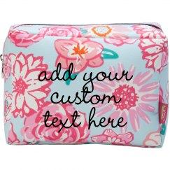 Custom Design/Text Makeup Bag