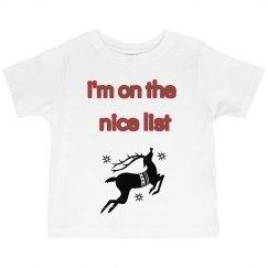 toddler chrismas shirt