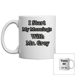 Mr. Grey Coffee Mug
