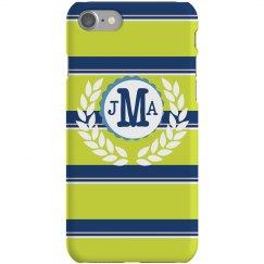 Custom Stripe iPhone Case