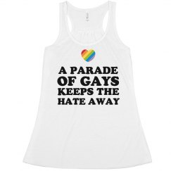 A Parade Of Gays Keeps the Hate Away