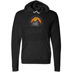 Distressed OAR logo hoodie