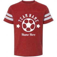Custom Team Soccer Tee