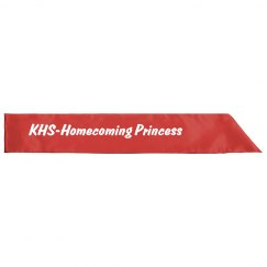 Red Homecoming Princess