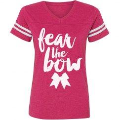 Fear The Bow Cheer Shirt