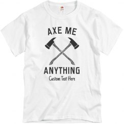 Axe Me Anything Custom Throwing Club