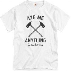 Axe Me Anything Custom Throwing Club