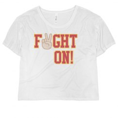 FIGHT ON SHIRT