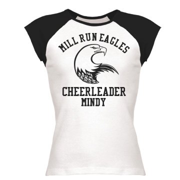 Eagles Mascot Cheerleader