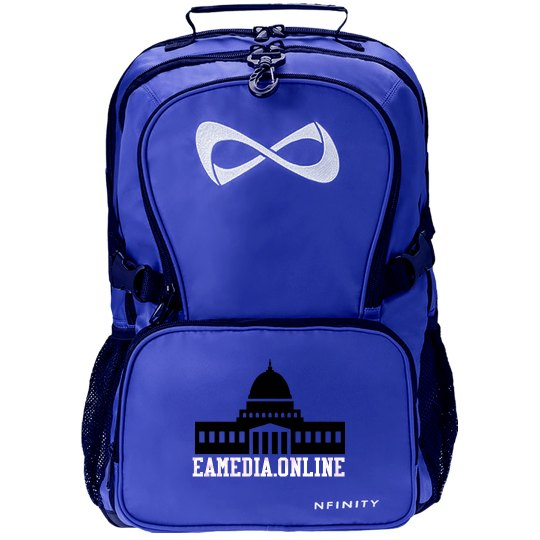 EAMediaOnline Backpack - Support Us With Your Purchase