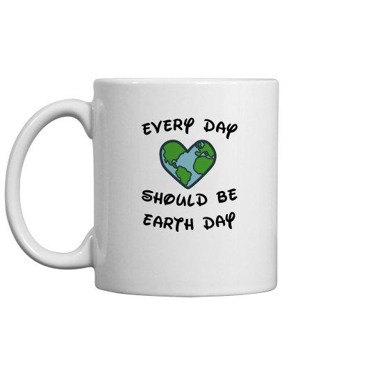 Earth Day Ceramic Mug