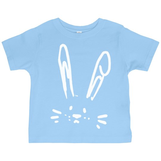 Easter Pastel Bunny Toddler Tee