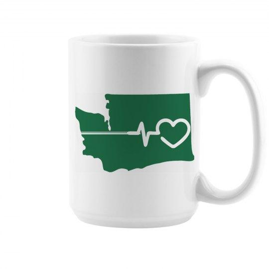 Eastern Washington has heart mug