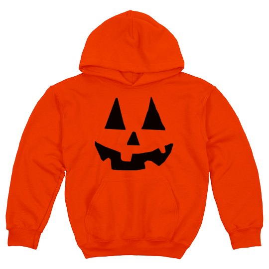 Easy Warm Pumpkin Kids Costume