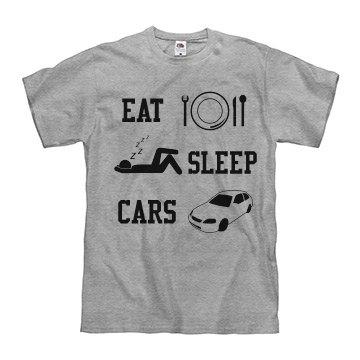 Eat sleep cars