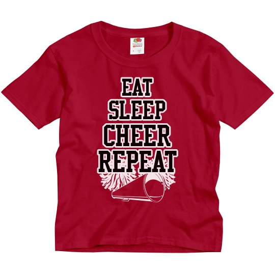 Eat sleep cheer repeat