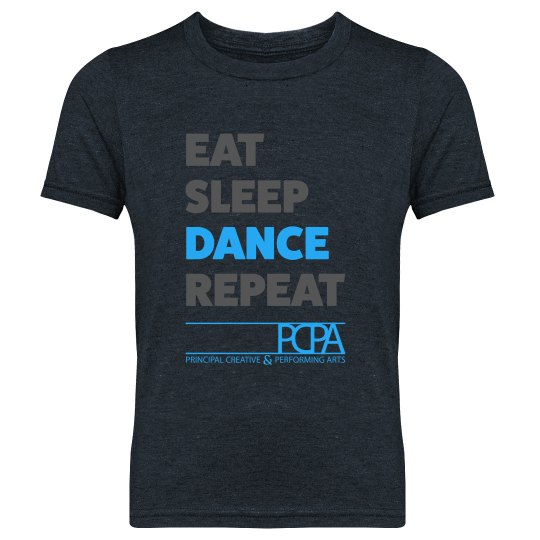 Eat, Sleep, Dance, Repeat - Boys/Girls Youth Tee