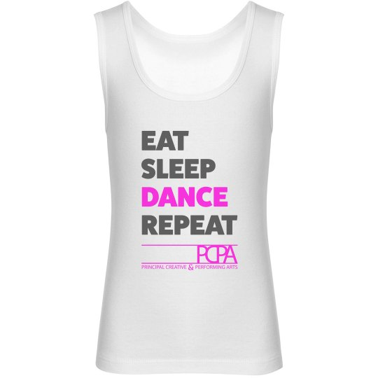 Eat, Sleep, Dance, Repeat - Youth Tank Top
