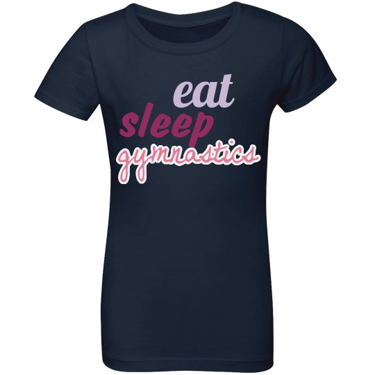 eat, sleep, gymnastics
