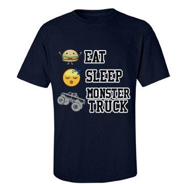 Eat, sleep, Monstertruck