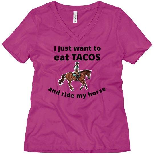 eat tacos