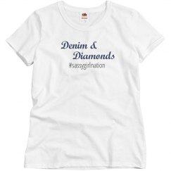 Denim & Diamonds T