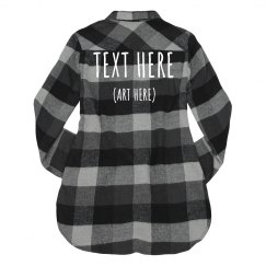 Custom Designed Flannel