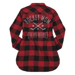 Custom Trendy Hockey Mom
