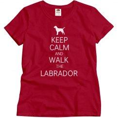 Walk the Labrador