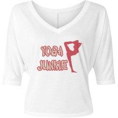 Yoga Junkie Tshirt