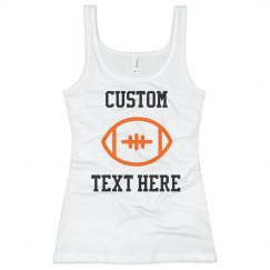 Customizable Football Text Tank