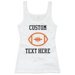 Customizable Football Text Tank
