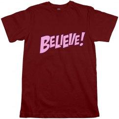 BELIEVE JERSEY TEE