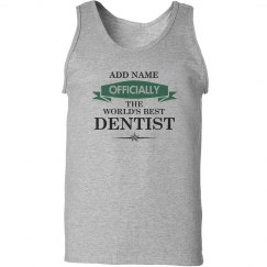 World's best Dentist Tank top