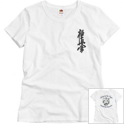 Ladies Relaxed Fit Shirt with Kanji and Logo